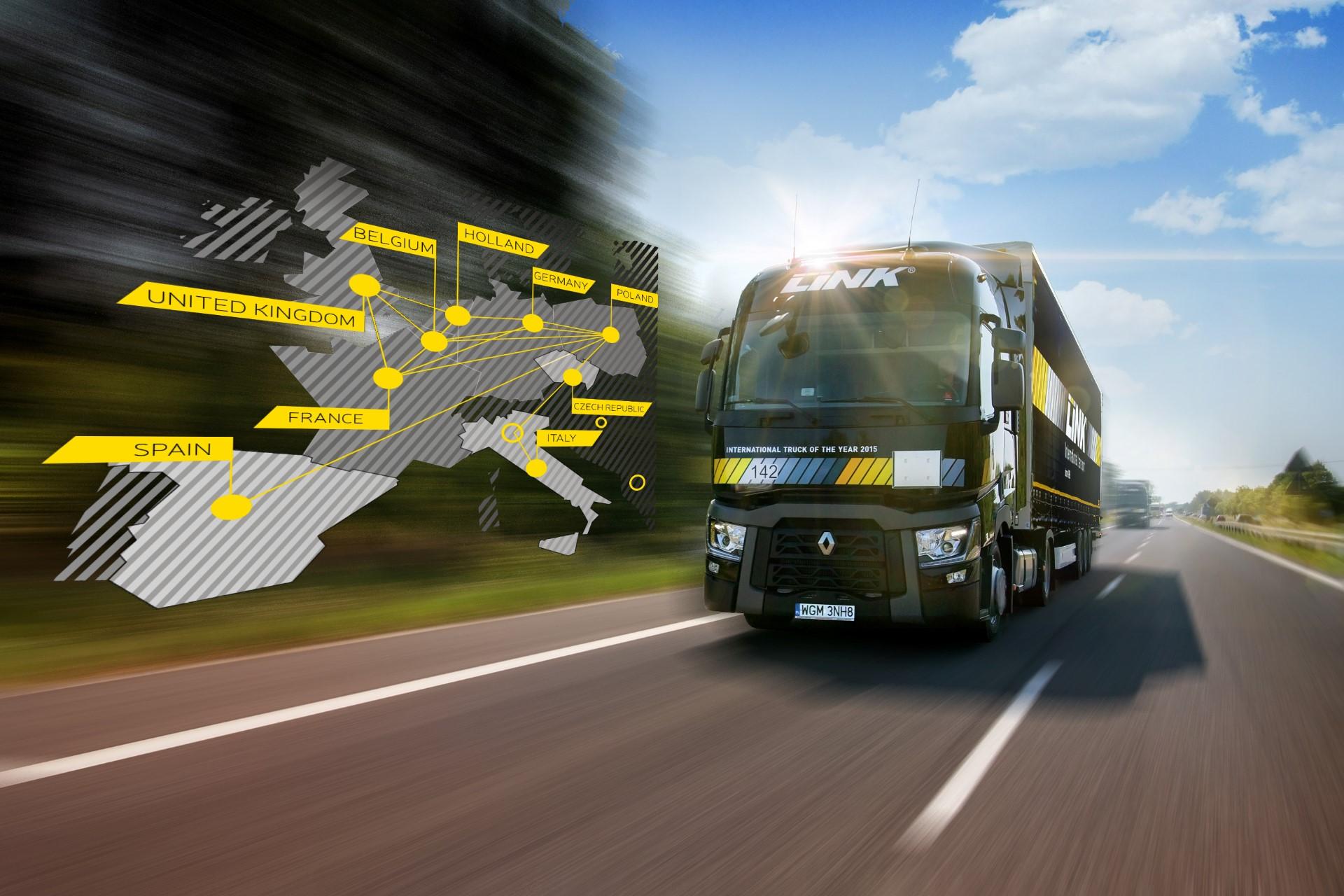 LINK - polska firma transportowa z sukcesami na rynku europejskim